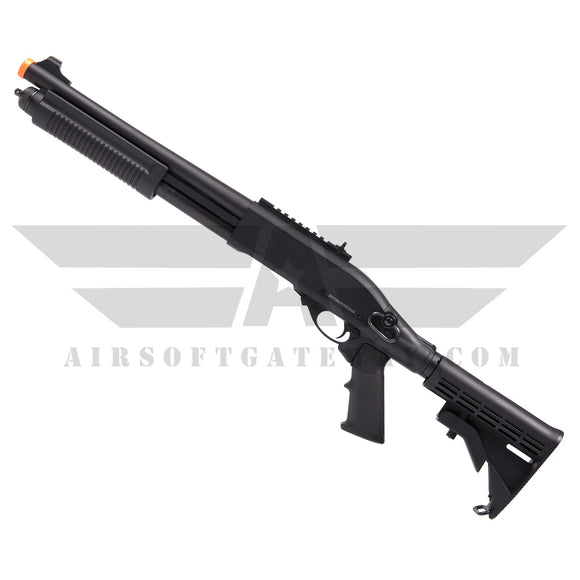 JAG ARMS Scattergun Gas Shotgun Gun TS BLACK - airsoftgateway.com
