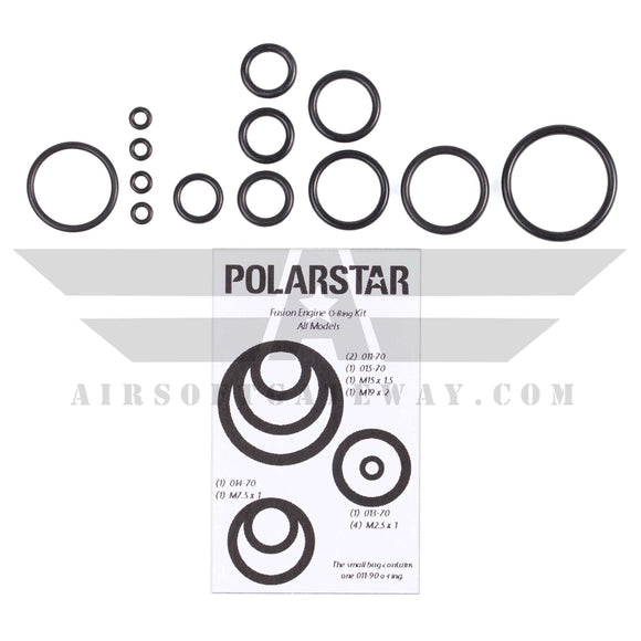 Polarstar Complete O-Ring Set for Fusion Engine - airsoftgateway.com