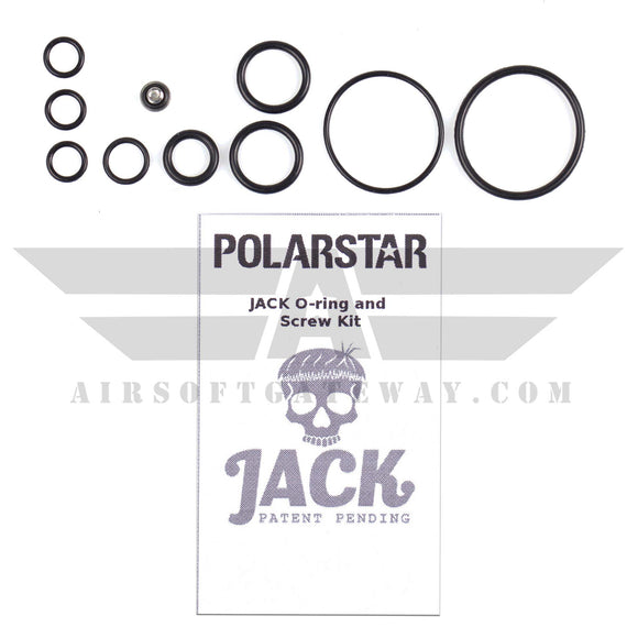 Polarstar Complete O-Ring and Screw Set for JACK - MP7 Excluded - airsoftgateway.com