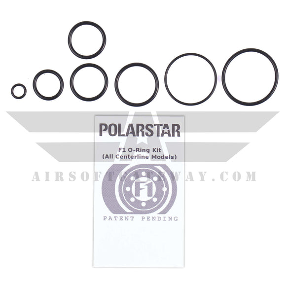Polarstar Complete O-Ring Set for F1 Engines - airsoftgateway.com