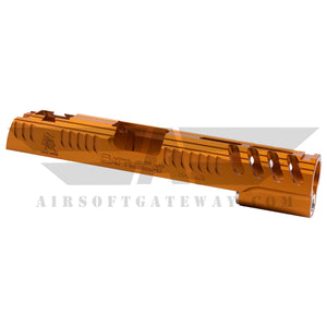 AIRSOFT MASTERPIECE ALUMINUM LIMCAT BATTLECAT FOR TOKYO MARUI / HI-CAPA - Orange -X15 - airsoftgateway.com
