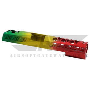 Airsoft Gateway Custom Airsoft Masterpiece Aluminum Triangle For Tokyo Marui / Hi-Capa - 420 RASTA - airsoftgateway.com