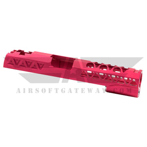 Airsoft Masterpiece Aluminum Triangles Slide for Tokyo Marui / Hi-Capa - Pink -Z8 - airsoftgateway.com
