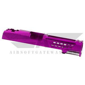 "AIRSOFT MASTERPIECE CUSTOM ""YORK"" SLIDE FOR TOKYO MARUI / HI-CAPA - Purple -Z7 - airsoftgateway.com"