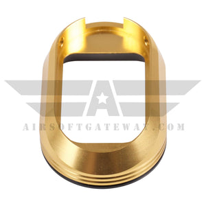 Airsoft Masterpiece Magwell - Limcat Marking w/ POM Base - Gold - airsoftgateway.com