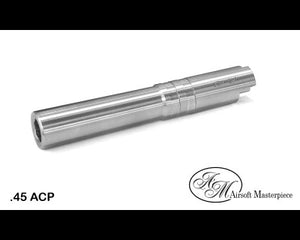 Airsoft Masterpiece Outer Barrel .45 for Hi-CAPA 4.3 - Silver - airsoftgateway.com