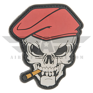 G-FORCE Smoking Skull PVC Patch