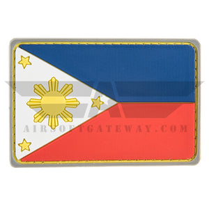 G-FORCE Philippines Flag PVC Patch