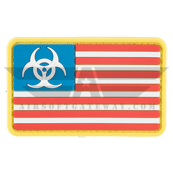 G-FORCE Biohazard US Flag PVC Patch