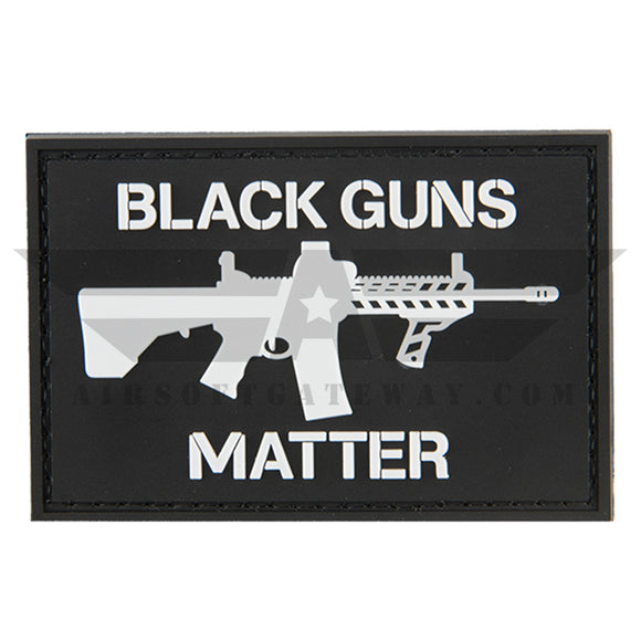 G-FORCE Black Guns Matter PVC Patch