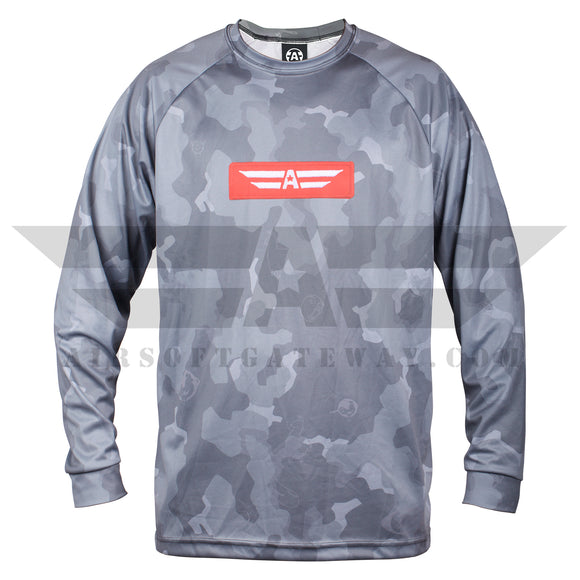 TM Compatible Urban Millennial Dry Fit Jersey - Grey Camo - airsoftgateway.com