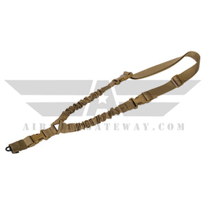 Lancer Tactical Single Point Tactical Sling Tan - airsoftgateway.com