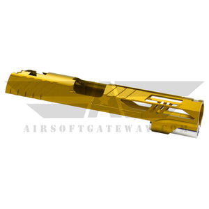 Airsoft Masterpiece RIO Slide for Tokyo Marui Hi-Capa 5.1 - Gold - airsoftgateway.com