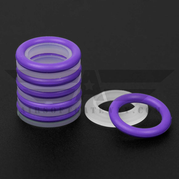 SCS Shockwave Short Stroke Buffer kits - Purple -Y3 - airsoftgateway.com