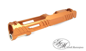 Airsoft Masterpiece Hawk Slide for Tokyo Marui Hi-Capa 5.1 - Orange - airsoftgateway.com