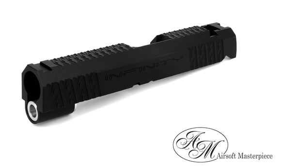 Airsoft Masterpiece Infinity Diamond 4.3 Slide - Black - airsoftgateway.com