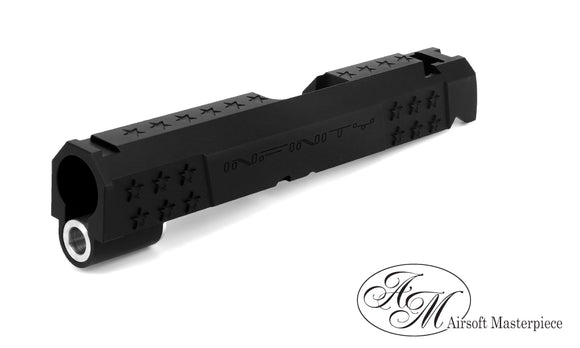Airsoft Masterpiece Infinity Star 4.3 Slide - Black - airsoftgateway.com