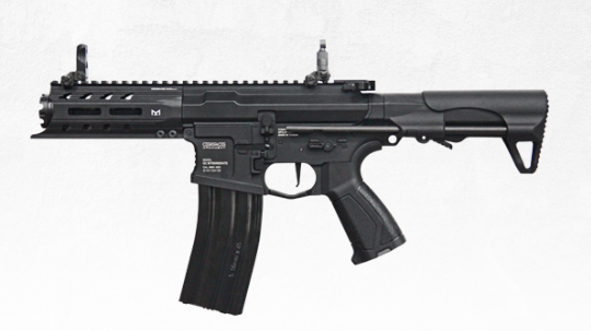 G&G ARP 556 Full Metal Airsoft AEG Without Battery & Charger- Battleship Grey