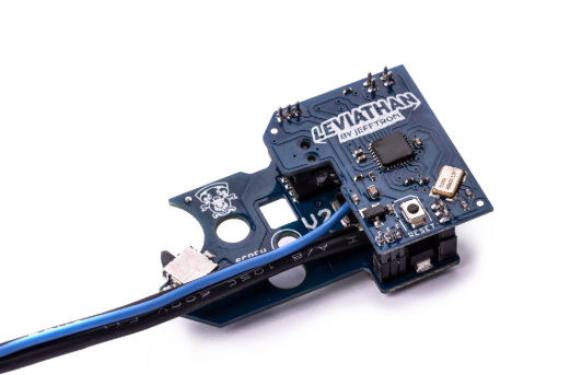 JeffTron Leviathan Airsoft Drop-In Programmable MOSFET Module Type: V2 / Wired To Stock - airsoftgateway.com