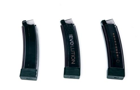 ASG Scorpion EVO 3 A1 75 rd Magazine 3 Pack - Smoky