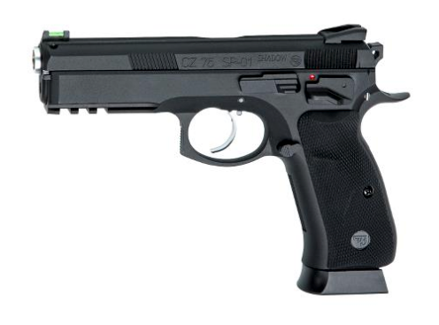 ASG CZ-75 SP-01 Shadow CO2 Full-Metal Pellet BB Pistol - Black - airsoftgateway.com
