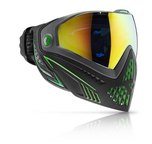 Dye i5 Thermal Goggle - Emerald Black/Lime - airsoftgateway.com