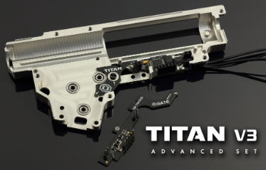 Gate Titan Version 3 Advanced Module AEG Mosfet without Programming Cards - airsoftgateway.com