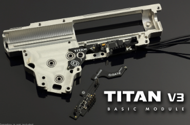 Gate Titan Version 3 Basic Module AEG Mosfet - airsoftgateway.com