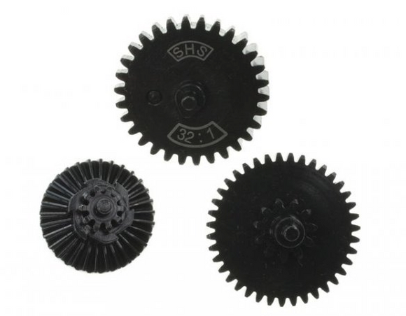 SHS 32:1 Ultra High Torque Gear Set - airsoftgateway.com