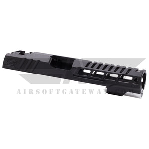 "Airsoft Masterpiece Custom ""Speed"" Standard Slide for Hi-CAPA/1911 - Black - airsoftgateway.com"