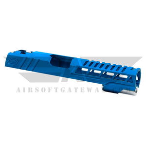 "Airsoft Masterpiece Custom ""Speed"" Standard Slide for Hi-CAPA/1911 - BLUE - airsoftgateway.com"