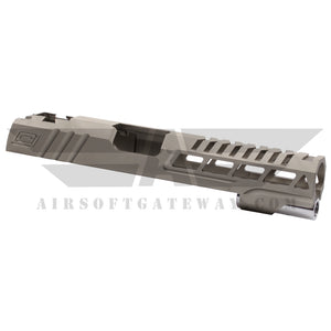 "Airsoft Masterpiece Custom ""Speed"" Standard Slide for Hi-CAPA/1911 - Gray - airsoftgateway.com"