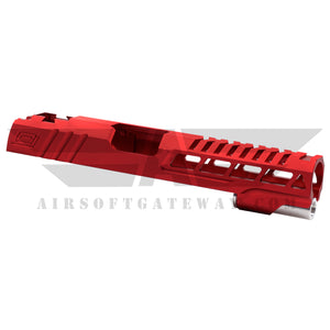 "Airsoft Masterpiece Custom ""Speed"" Standard Slide for Hi-CAPA/1911 - Red - airsoftgateway.com"