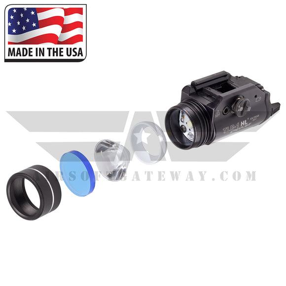 Ricochet Replacement BB Proof Lens For Streamlight TLR-1 HL & TLR-1/S- Cry Baby Blue -Y5