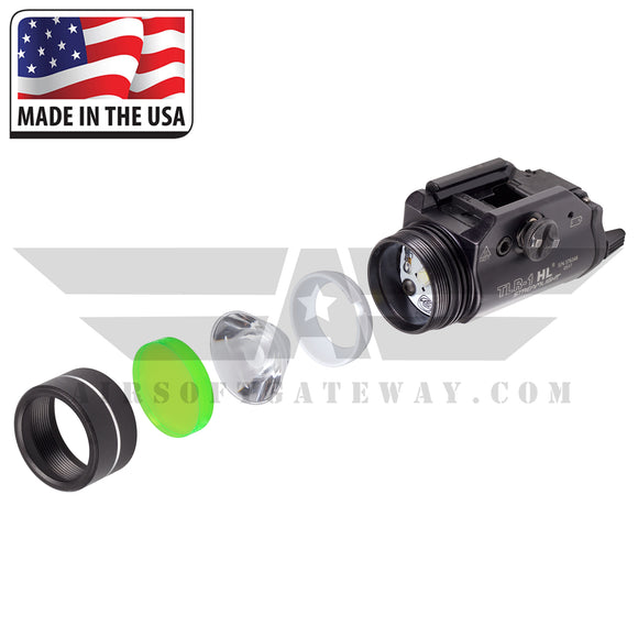 Ricochet Replacement BB Proof Lens For Streamlight TLR-1 HL & TLR-1/S - Gamma Green -Y5