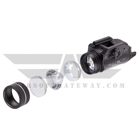 Ricochet Replacement BB Proof Lens For Streamlight TLR-1 HL & TLR-1/S - Clear (#A3-2) - airsoftgateway.com