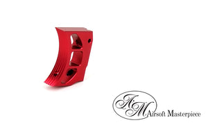 Airsoft Masterpiece Aluminum Trigger - Type 11 - Red - airsoftgateway.com
