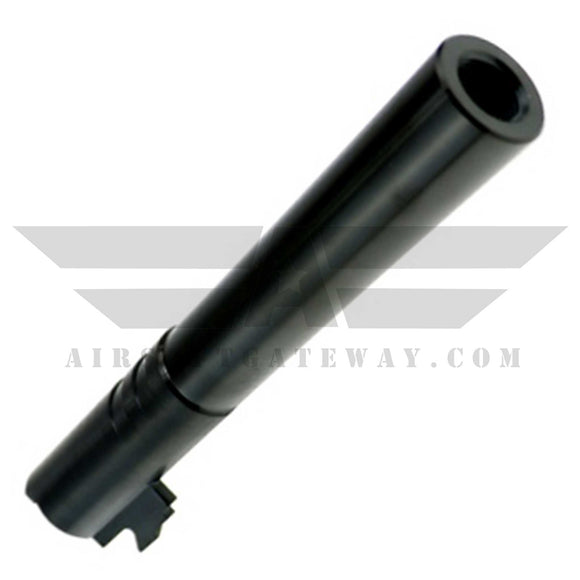 CowCow OB1 5.1 Threaded Outer Barrel .45 Marking Black - airsoftgateway.com