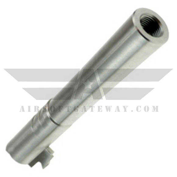 CowCow OB1 5.1 Threaded Outer Barrel .45 marking Silver - airsoftgateway.com