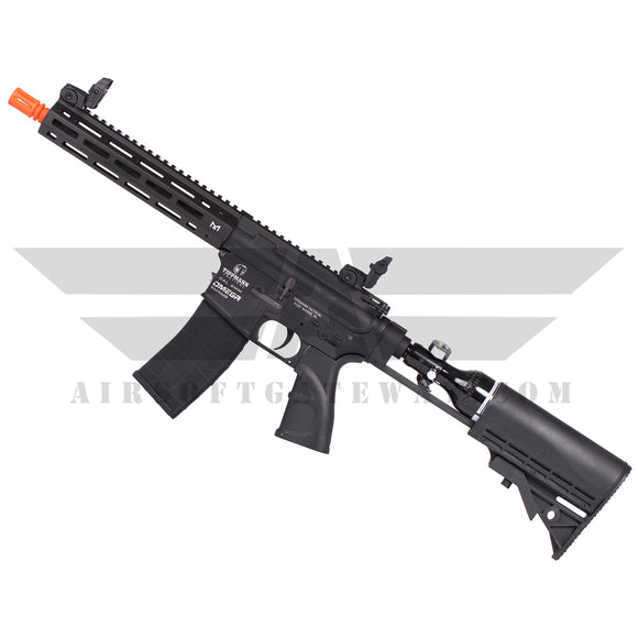 Tippmann Omega-PV CQB 9 inch HPA Airsoft Rifle with - 13ci Compressed Air Tank - airsoftgateway.com