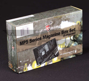 Tippmann - King Arm PDW Magazines MP5 100rds Set - 5 pack - airsoftgateway.com