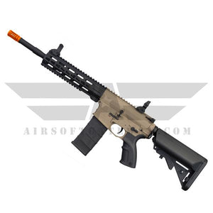 Tippmann Commando AEG Carbine 14.5 with Keymod Rail System TAN - airsoftgateway.com