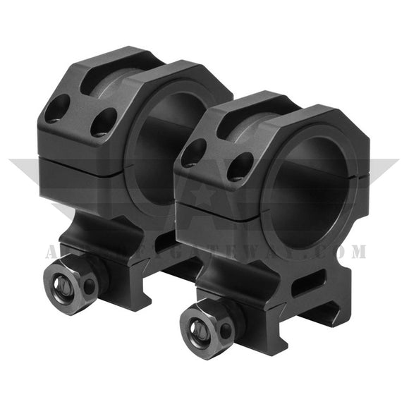 NcStar/Vism 30MM Tactical Scope Rings - 1.1inch Height-#Z16 - airsoftgateway.com