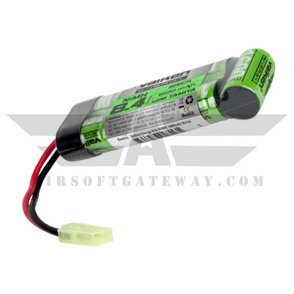Valken Energy NiMH 8.4v 1600 mAH Flat Brick Mini Battery -AF7