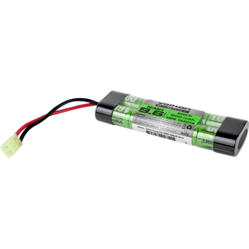 VALKEN NIMH 9.6V 1600mah Mini Brick Airsoft Battery- Mini Tamiya - airsoftgateway.com