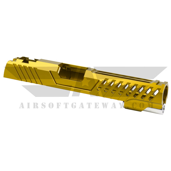 Airsoft Masterpiece Custom Viper Standard Slide - Gold - airsoftgateway.com