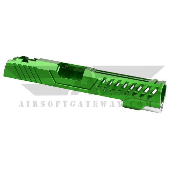 Airsoft Masterpiece Custom Viper Standard Slide - Green - airsoftgateway.com