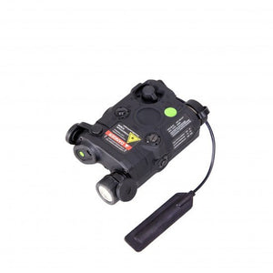 Bravo P15 Flashlight and Green Laser Combo Airsoft PEQ - Black - airsoftgateway.com