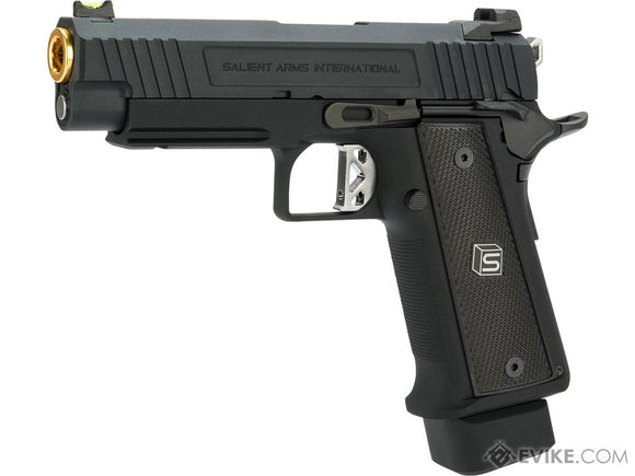 EMG / Salient Arms International 2011 DS Airsoft Training Weapon - 4.3 with Green Gas Magazine - airsoftgateway.com
