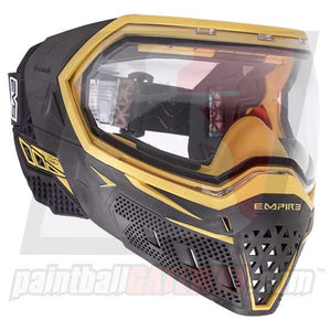 Empire EVS Paintball Goggle System - Black/Gold - airsoftgateway.com